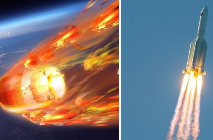 China Out of Control Rocket will fall on the earth Today