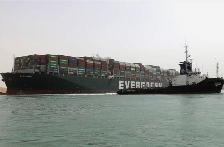 Ever Given Container Ship Seizes by Egypt Government