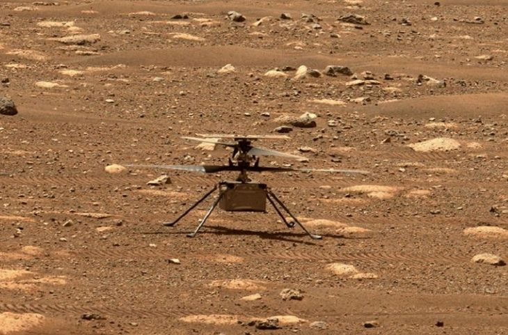 NASA records Ingenuity helicopter sound on Mars